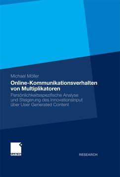 Online-Kommunikationsverhalten von Multiplikatoren (eBook, PDF) - Möller, Michael
