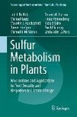 Sulfur Metabolism in Plants (eBook, PDF)