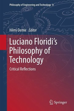 Luciano Floridi's Philosophy of Technology (eBook, PDF)
