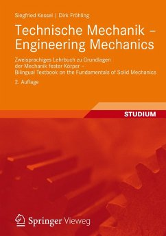 Technische Mechanik - Engineering Mechanics (eBook, PDF) - Kessel, Siegfried; Fröhling, Dirk