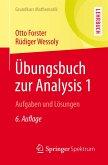 Übungsbuch zur Analysis 1 (eBook, PDF)