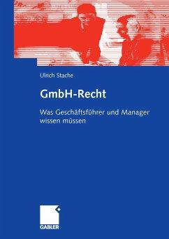 GmbH-Recht (eBook, PDF) - Stache, Ulrich