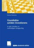 Grundsätze soliden Investierens (eBook, PDF)