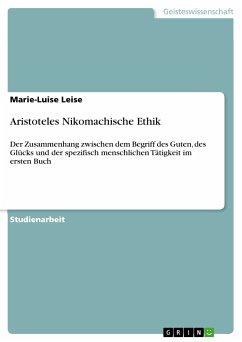 Aristoteles Nikomachische Ethik (eBook, ePUB)