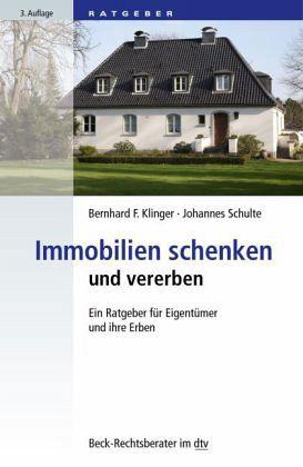 immobilien schenken und vererben von bernhard f klinger. Black Bedroom Furniture Sets. Home Design Ideas