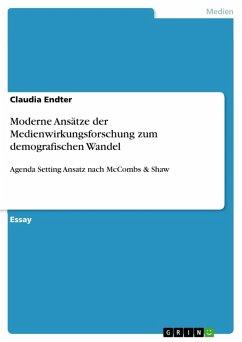 Moderne Ansätze der Medienwirkungsforschung zum demografischen Wandel (eBook, PDF)