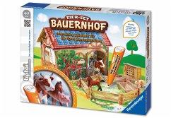 Ravensburger - tiptoi®: tiptoi® Spiel-Set Bauernhof ohne Stift