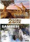 2 Doku Box - Kalahari / Sambesi (2 Discs)