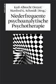 Niederfrequente psychoanalytische Psychotherapie (eBook, ePUB)