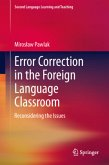 Error Correction in the Foreign Language Classroom