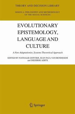 Evolutionary Epistemology, Language and Culture (eBook, PDF)