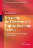 Measuring the Effectiveness of Regional Governing Systems (eBook, PDF)