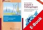 Analytik II - Kurzlehrbuch und Prüfungsfragen (eBook, PDF)