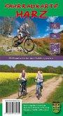 Fahrradkarte Harz, wetterfest, 2 Bl.