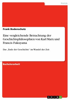 Eine vergleichende Betrachtung der Geschichtsphilosophien von Karl Marx und Francis Fukuyama