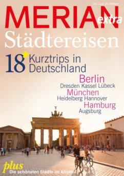MERIAN extra Städtereisen Deutschland