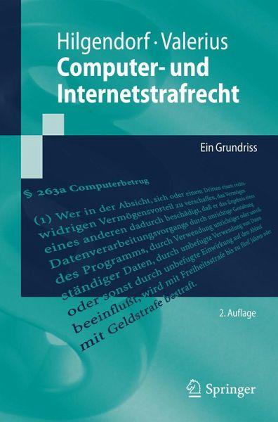 Computer- und Internetstrafrecht (eBook, PDF) - Hilgendorf, Eric; Valerius, Brian