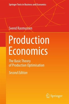 Production Economics (eBook, PDF) - Rasmussen, Svend