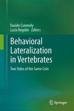 Behavioral Lateralization in Vertebrates (eBook, PDF)