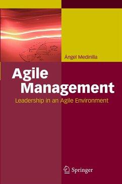 Agile Management (eBook, PDF) - Medinilla, Ángel