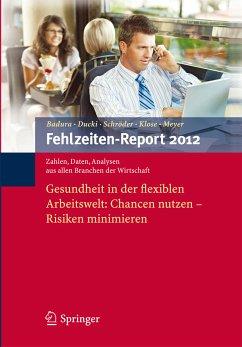 Fehlzeiten-Report 2012 (eBook, PDF)