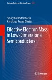 Effective Electron Mass in Low-Dimensional Semiconductors (eBook, PDF)