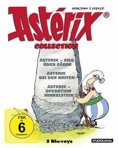 Asterix Collection: Operation Hinkelstein/ Sieg über Cäsar/ Asterix bei den Briten Bluray Box - Diverse