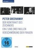 Peter Greenaway: Der Kontrakt des Zeichners / Ein Z und Zwei Nullen/ Verschwörung der Frauen Arthaus Close-Up