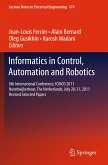 Informatics in Control, Automation and Robotics (eBook, PDF)