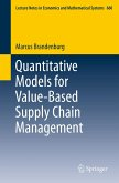Quantitative Models for Value-Based Supply Chain Management (eBook, PDF)