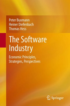 The Software Industry (eBook, PDF) - Hess, Thomas; Buxmann, Peter; Diefenbach, Heiner