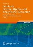 Lernbuch Lineare Algebra und Analytische Geometrie (eBook, PDF)