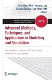 Advanced Methods, Techniques, and Applications in Modeling and Simulation (eBook, PDF)