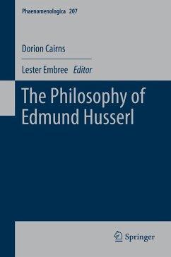 The Philosophy of Edmund Husserl (eBook, PDF) - Cairns, Dorion