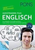 PONS Audiotraining Plus Englisch, Audio-CD + Begleitbuch