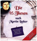 Die 95 Thesen nach Martin Luther, Plakat