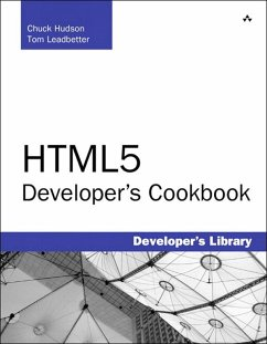 HTML5 Developer's Cookbook (eBook, ePUB) - Hudson, Chuck; Leadbetter, Tom
