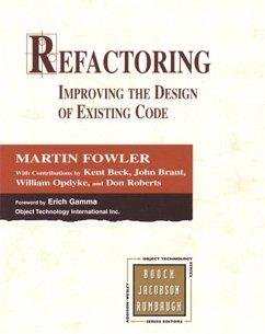 Refactoring (eBook, PDF) - Fowler Martin; Beck Kent; Brant John; Opdyke William; Roberts Don