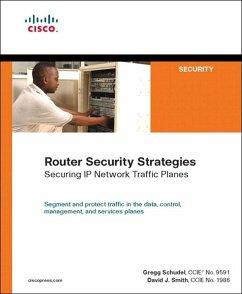 Router Security Strategies (eBook, ePUB) - Schudel, Gregg; Smith, David