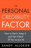 Personal Credibility Factor, The (eBook, PDF)