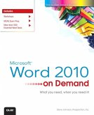 Microsoft Word 2010 On Demand (eBook, PDF)