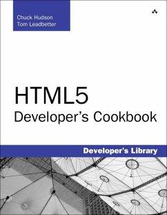 HTML5 Developer's Cookbook (eBook, PDF) - Hudson, Chuck; Leadbetter, Tom