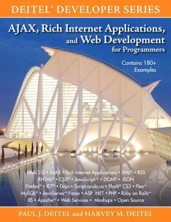 AJAX, Rich Internet Applications, and Web Development for Programmers (eBook, PDF) - Deitel Paul; Deitel Harvey M.