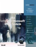 VBA for the 2007 Microsoft Office System (eBook, ePUB)