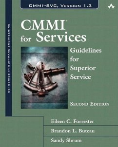 CMMI for Services (eBook, PDF) - Forrester, Eileen; Buteau, Brandon; Shrum, Sandra