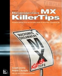 Macromedia Dreamweaver MX Killer Tips (eBook, PDF) - Lowery, Joseph; Buraglia, Angela C.