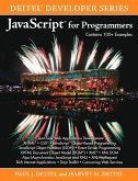 JavaScript for Programmers (eBook, PDF)