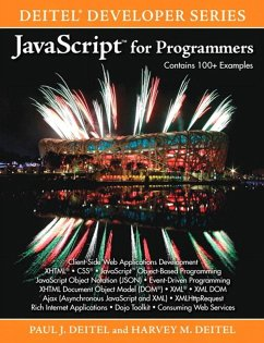 JavaScript for Programmers (eBook, PDF) - Deitel Paul; Deitel Harvey M.