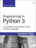 Programming in Python 3 (eBook, ePUB)
