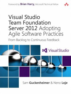 Visual Studio Team Foundation Server 2012 (eBook, PDF) - Guckenheimer Sam; Loje Neno